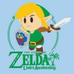 Select Mens Graphic T-Shirts: Legend of Zelda: Link's Awakening Rick & Morty