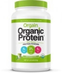2.03 lbs Orgain  Plant Based Protein Powder (Ice Mocha Latte)