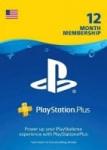 1-Year Sony PlayStation Plus Membership (Digital Delivery)