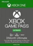 3-Month Xbox Game Pass Ultimate Membership (Xbox One Digital Code)