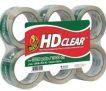 6-Rolls Duck HD Clear Heavy Duty Packaging Tape Refill