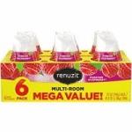 6-Ct 7-Oz Renuzit Adjustable Air Freshener Gel (Forever Raspberry)