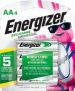 4-Count Energizer Rechargeable AA NiMH Batteries