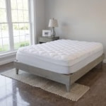 VirtueValue Mattress Pad w/ Fitted Skirt (Factory Seconds King or Cal. King)