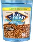 40oz Blue Diamond Almonds (Whole Natural Smokehouse or Lightly Salted)