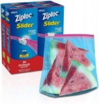 104-Count Ziploc Gallon Slider Stand-and-Fill Storage Bags