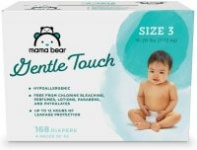 Mama Bear Gentle Touch Diapers: 184-Ct Size 2 $13.65 168-Ct Size 3