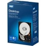 "WD Hard Drives: 6TB WD Desktop Internal SATA III 3.5"" Hard Drive"