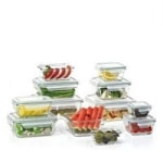 Sam's Club Members: 24-Piece Member's Mark Glass Food Storage Set by Glasslock