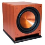 Klipsch R-112SW 12″ 600W Reference Series Powered Subwoofer (Cherry)