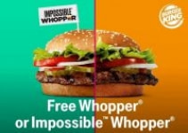 T-Mobile Customers: Burger King Whopper or Impossible Whopper
