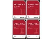 4-Pack 4TB WD Red Plus NAS 3.5″ 5400 RPM Internal Hard Drives