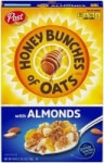 18oz. Post Honey Bunches of Oats w/ Crunchy Honey Roasted Cereal