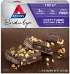 5-Count 1.41oz Atkins Endulge Treat (Nutty Fudge Brownie Bar)