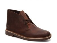 DSW Extra 40% Off Select Brands: Clarks Men's Bushacre 2 Chukka Boots