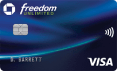 Chase Freedom Unlimited®: Earn