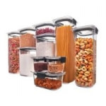 10-Piece Rubbermaid Brilliance Pantry Airtight Food Storage Containers w/ Lids