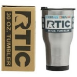 30-Oz RTIC Double Wall Vacuum Insulated Tumbler (Stainless Steel)