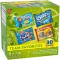 30-Pack Nabisco Team Favorites Cookies & Crackers (Variety Pack)