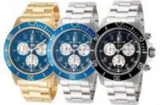 Glycine Men's Combat Sub Chronograph Quartz Watch (various styles)